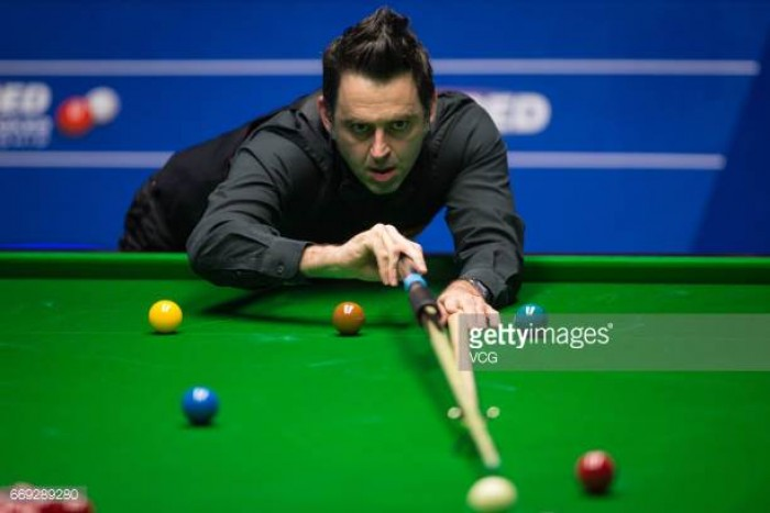 Ronnie 'The Rocket' O'Sullivan takes off against Shaun Murphy as he starts to put problems past him