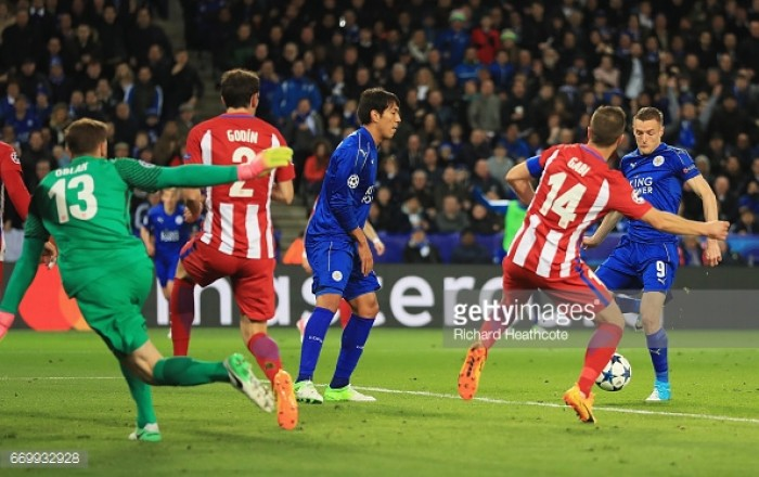 Leicester City 1-1 Atlético Madrid (1-2 agg): Foxes fairytale over despite resilient display