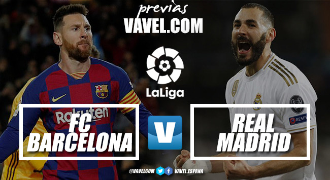 Previa FC Barcelona-Real Madrid CF: un examen definitivo