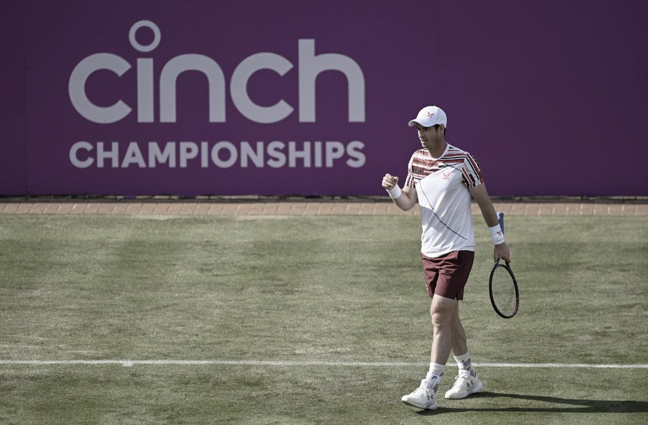 Murray vence Paire com tranquilidade e avança à segunda rodada de Queen's