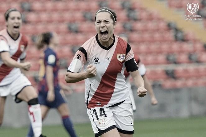 El Rayo Femenino empata 1 - 1 frente al Barcelona