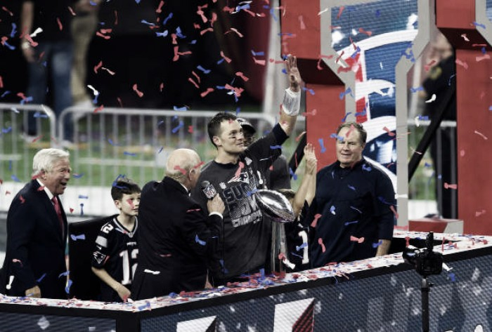 Com recorde em participações no Super Bowl, New England Patriots buscam hegemonia na NFL