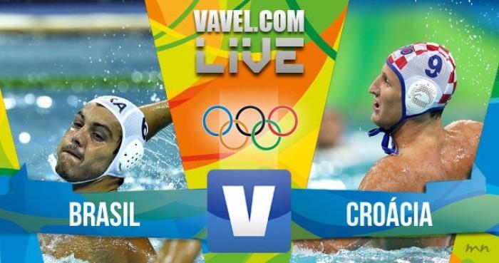Resultado Brasil x Croácia no Polo Aquático masculino dos Jogos Olímpicos (6-10)
