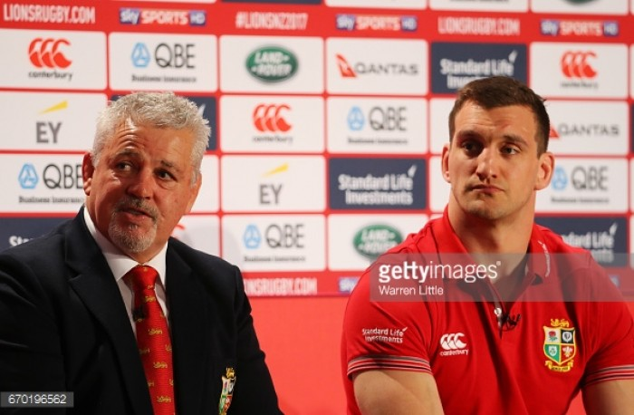 Sam Warburton Lions captaincy against All Blacks leaked on Twitter