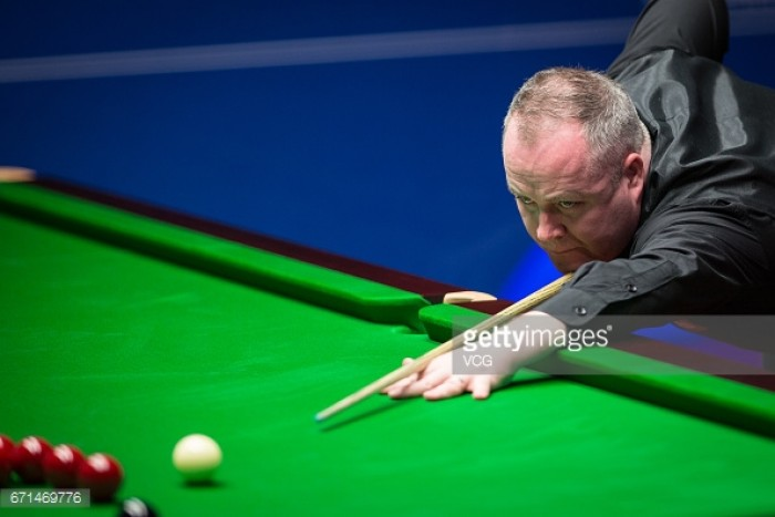 John Higgins wins high-scoring contest to see off Mark Allen