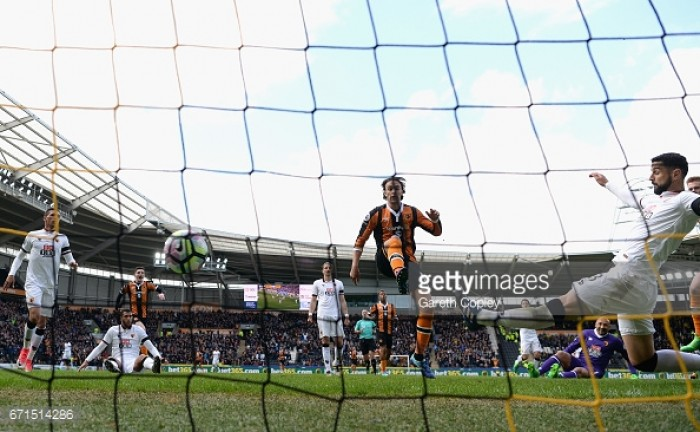 Hull City 2-0 Watford: Tigers remain two points clear with four games remaining