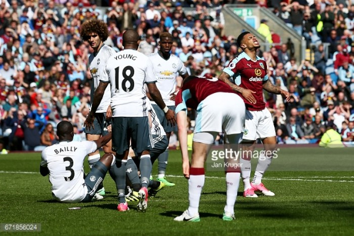Player ratings following Burnley's home defeat to United