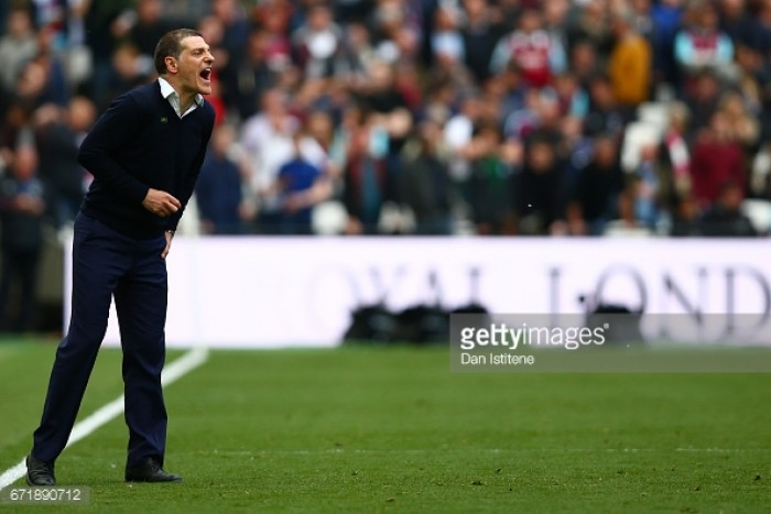 """Slaven Bilić """"gutted"""" West Ham didn't take the three points in Everton stalemate"""