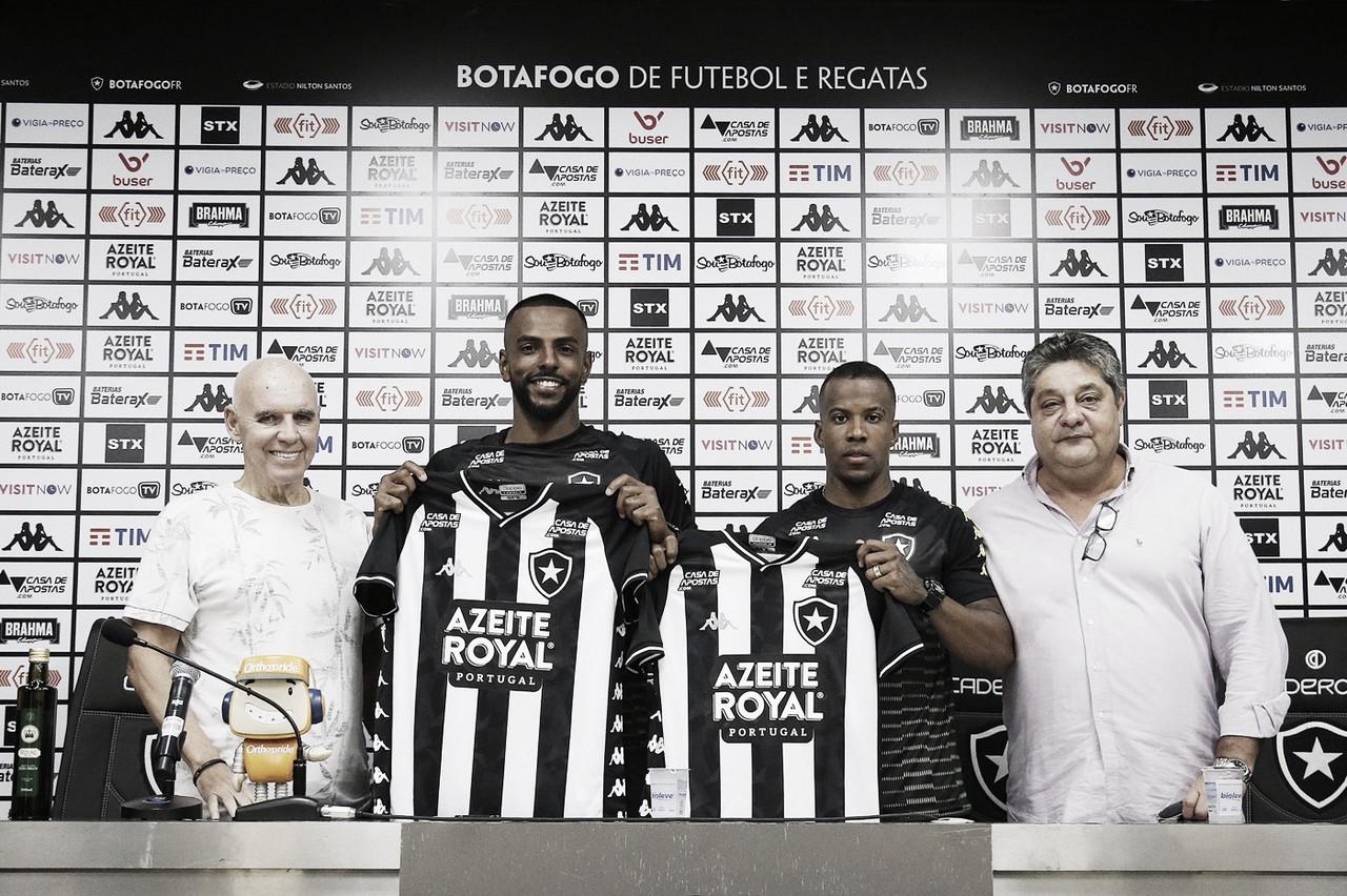 Novos reforços, Rhuan Renato e Guilherme Santos são apresentados pelo Botafogo