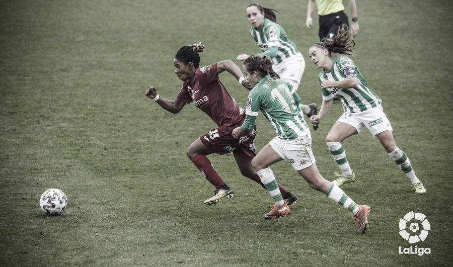 Betis Féminas - Logroño: sentencia para las béticas (1-3)