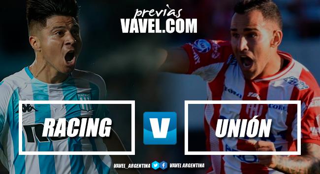Previa Racing Club - Unión: El campeón abre la Superliga con el sueño del bicampeonato