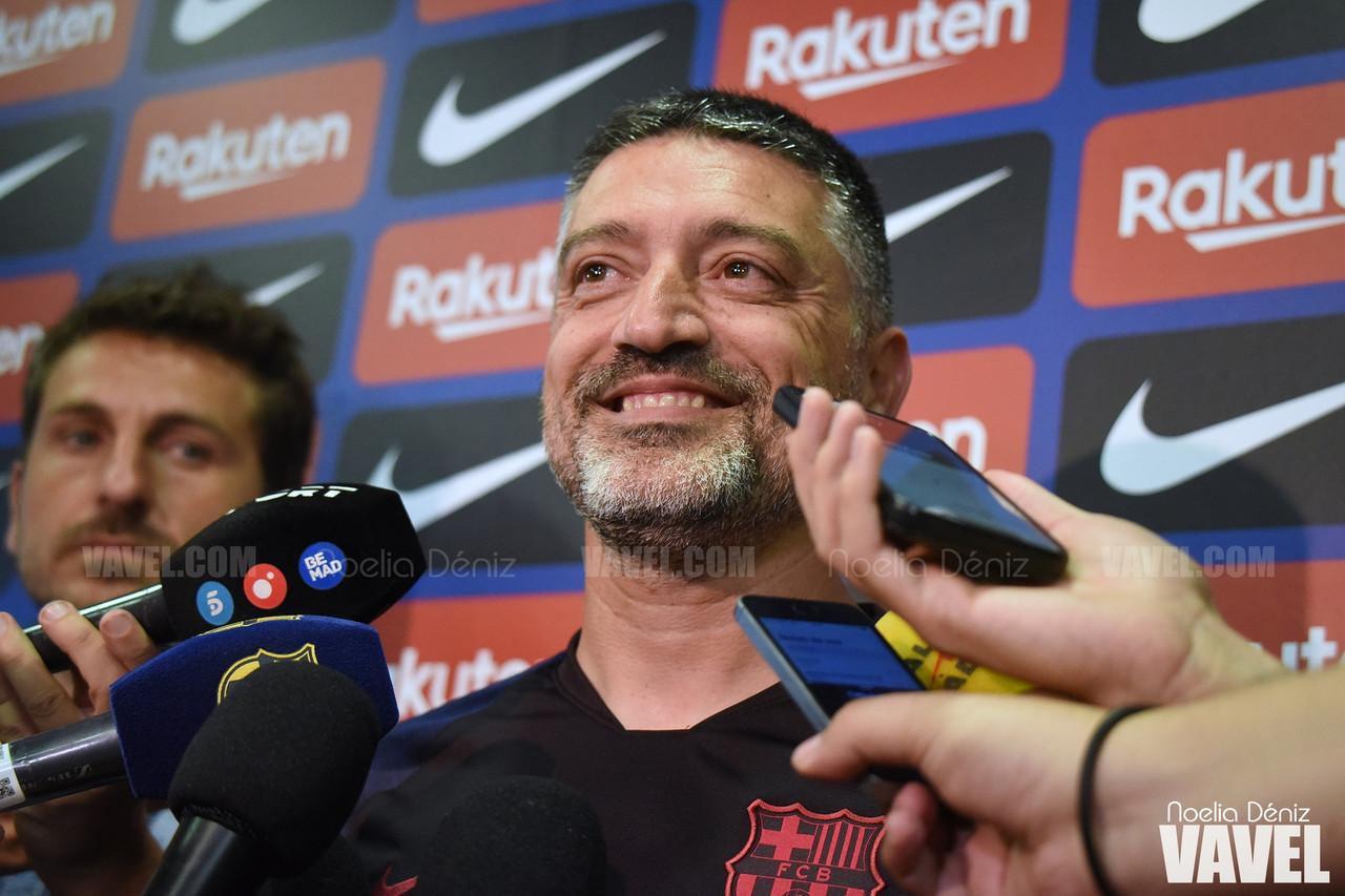 """García Pimienta: """"Intentaremos aspirar a lo máximo"""""""