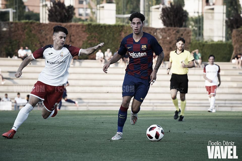 El Barça B se estrena con derrota