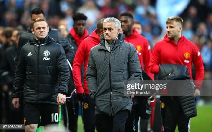José Mourinho insists he was emotional when Wayne Rooney left Manchester United