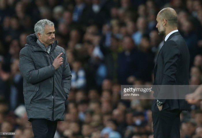 """Pep Guardiola insists himself and José Mourinho are """"twins"""" in their winning obsession ahead of derby"""