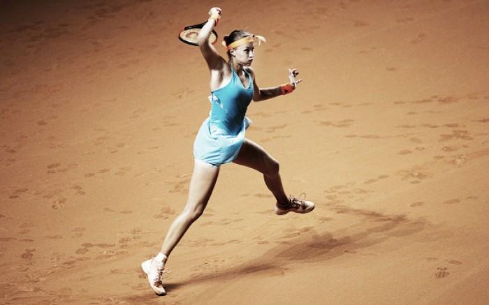 WTA Stuttgart: Kristina Mladenovic eases past Carla Suárez Navarro in straight sets