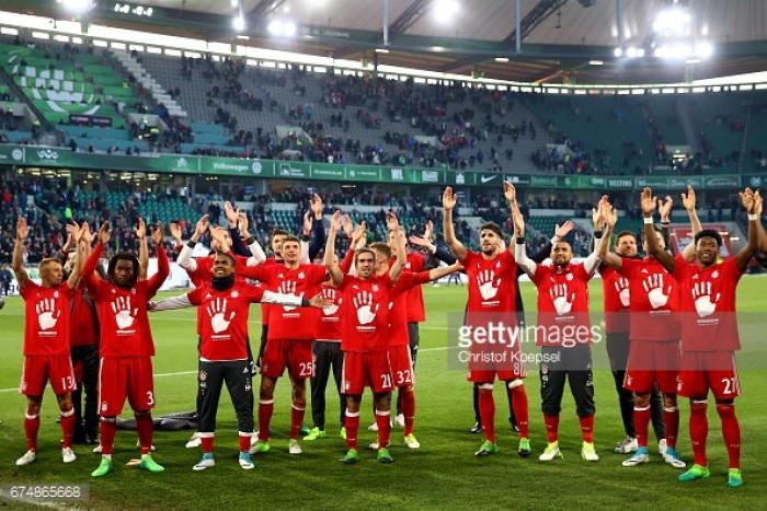 VfL Wolfsburg 0-6 Bayern Munich: Bavarians ease to fifth successive Bundesliga title against hapless Wolves