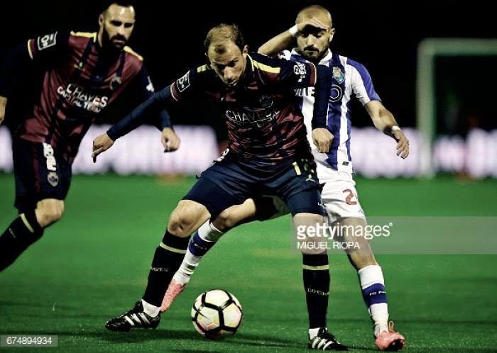 Chaves x Porto: crença azul um Tiquinho mais forte (0-2)