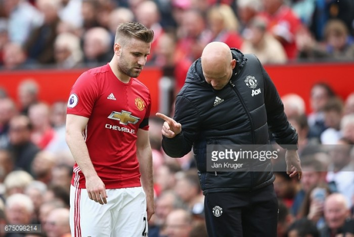 Report: José Mourinho to give Luke Shaw chance to establish himself as Man United left-back