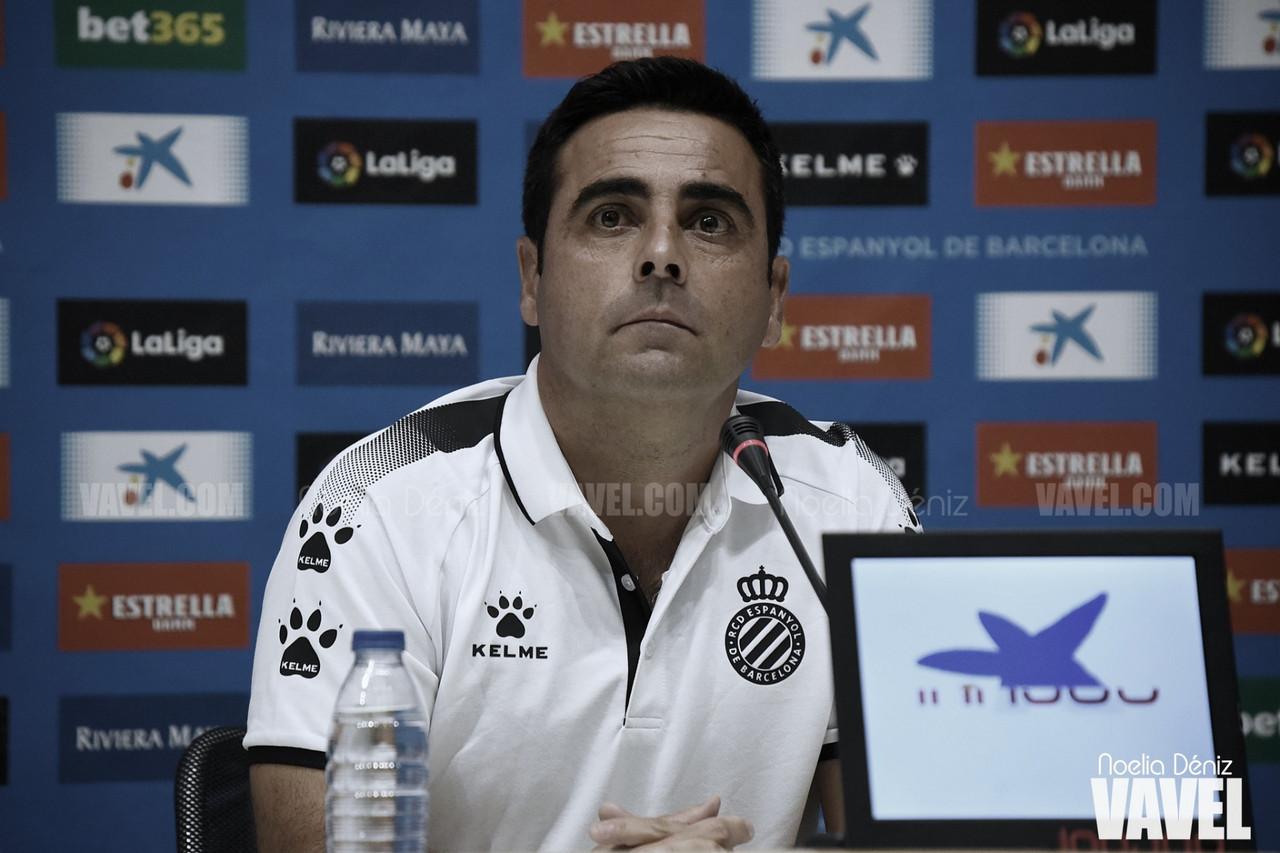 """David Gallego: """"Quedan 90 minutos por jugar"""""""