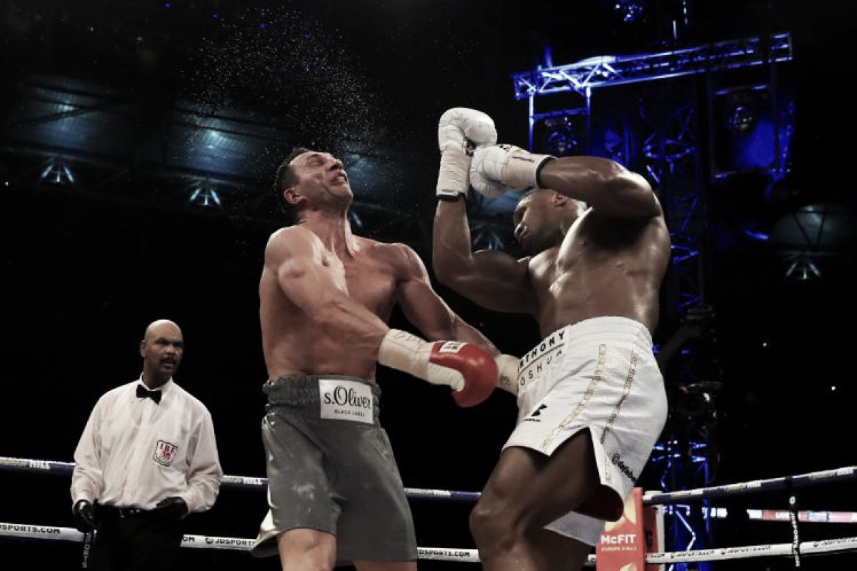 Anthony Joshua luchará en septiembre y abril