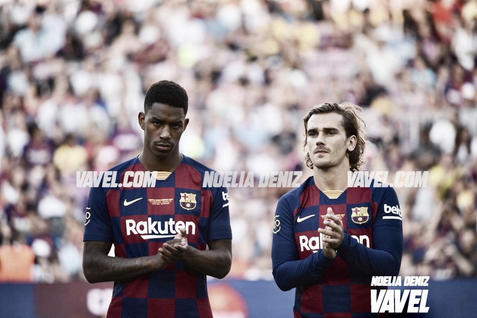 Presentación de la plantilla del FC Barcelona 2019/20