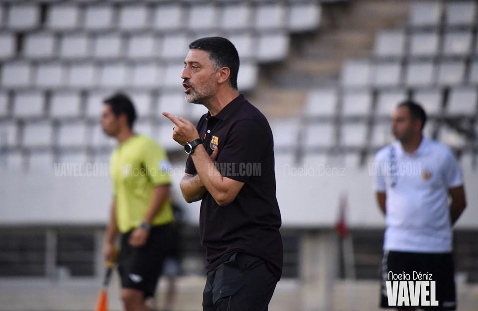 """García Pimienta: """"Hemos hecho un buen partido"""""""