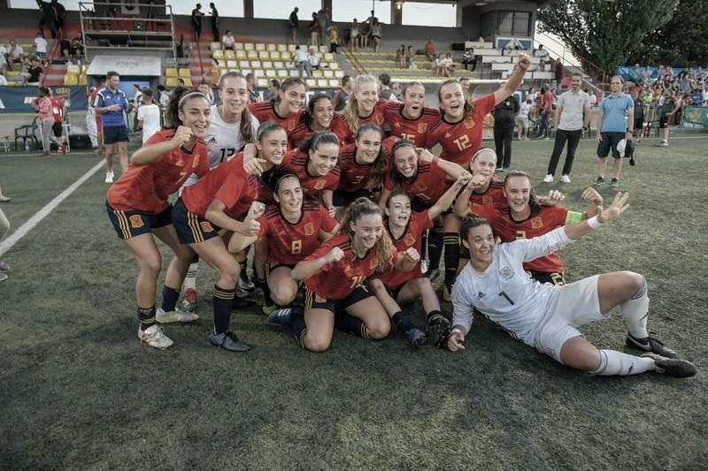 La Selección Española sub-19 se proclama campeona del Cañamás Naranja COTIF femenino