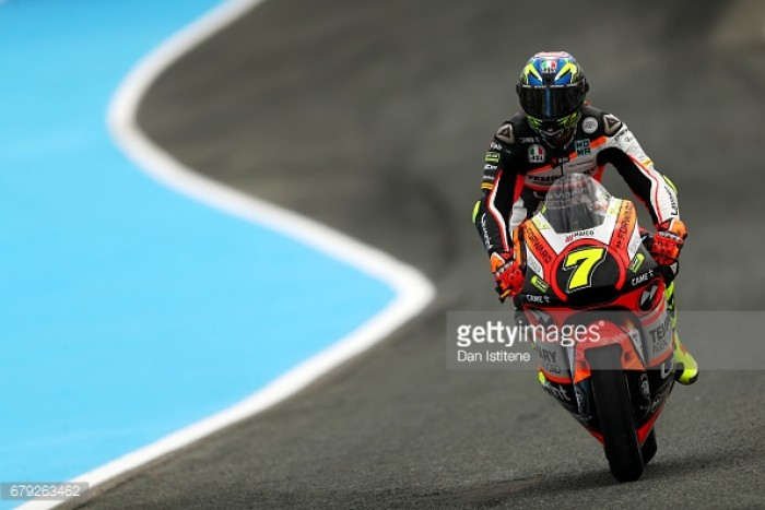 Moto2: Baldassarri on top in Le Mans