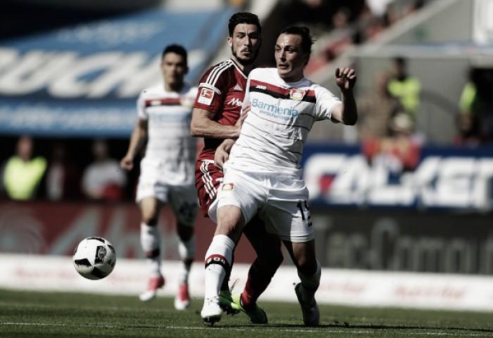 Ingolstadt empata com Bayer Leverkusen e se aproxima de queda na Bundesliga