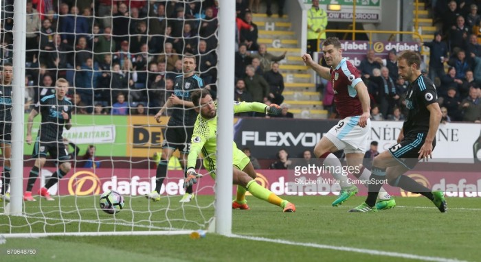 Burnley 2-2 West Bromwich Albion: Vokes brace denies Baggies three points
