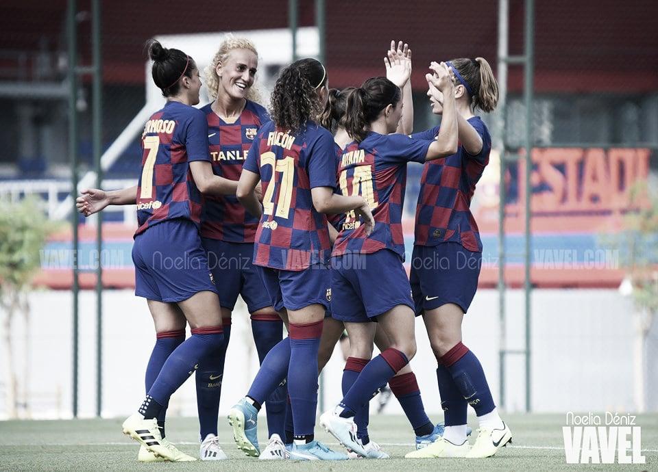 El FC Barcelona Femenino impone su ley ante el Olympique Marseille