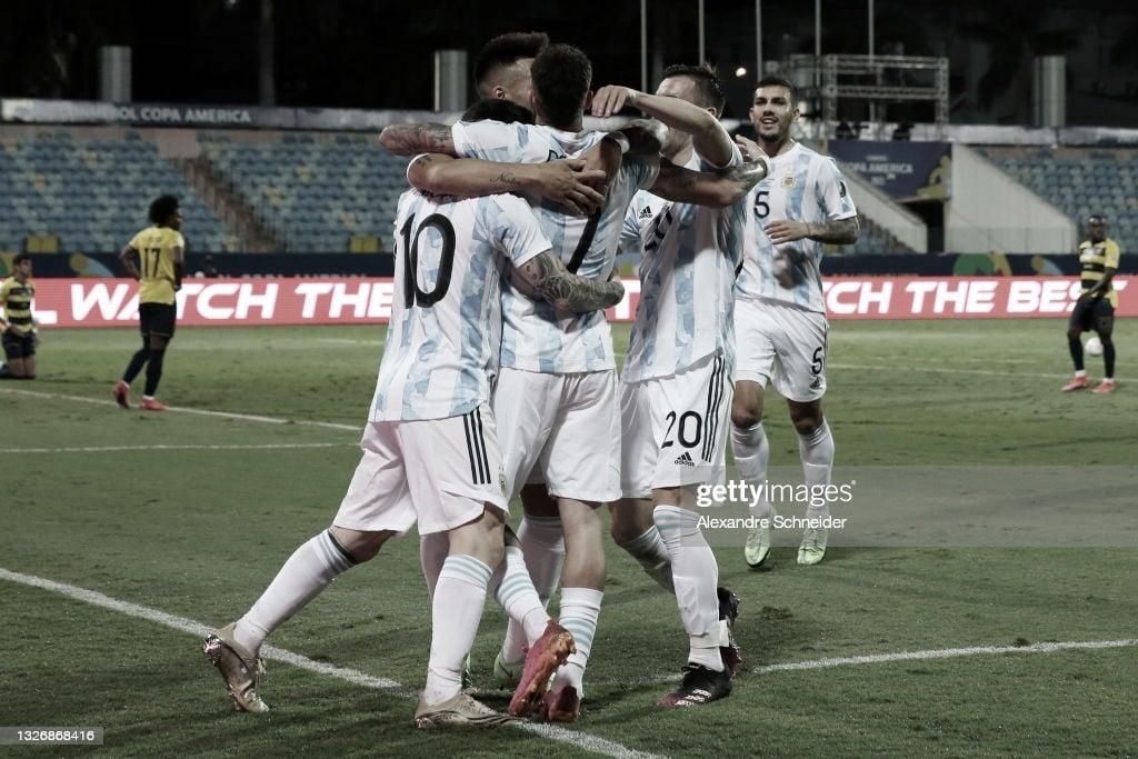 "Lionel Messi: ""Vamos pasito a pasito, esperamos llegar a la final"""