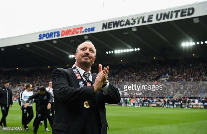 Rafa Benitez confirms he will stay at Newcastle United