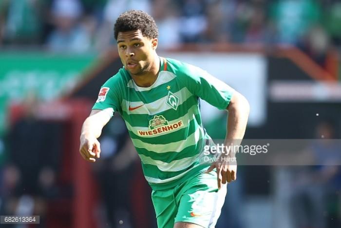 Serge Gnabry confirms Werder Bremen departure