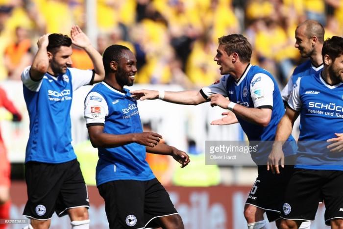 Arminia Bielefeld 6-0 Eintracht Braunschweig: Yabo stars in stunning performance
