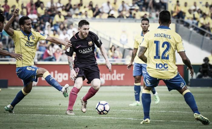Barcelona visa manutenção de máximo aproveitamento na Liga diante do Las Palmas