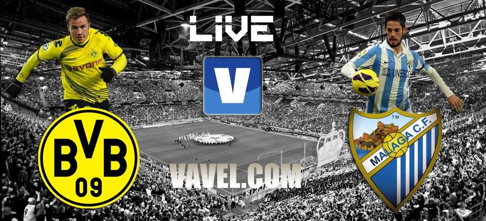 Borussia Dortmund - Málaga, así lo vivimos