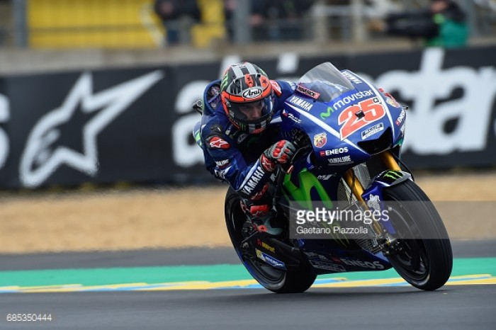 MotoGP: All Yamaha front row in Le Mans