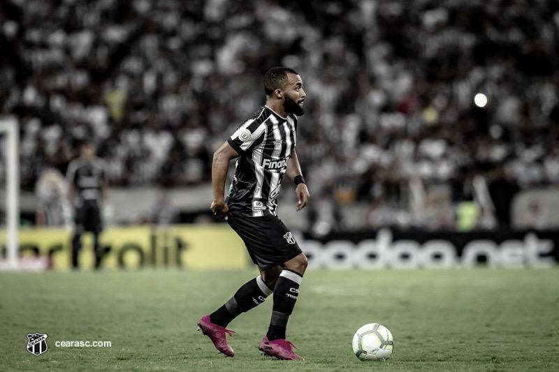 Prestes a completar 150 jogos pelo Ceará, Samuel Xavier comemora boa fase