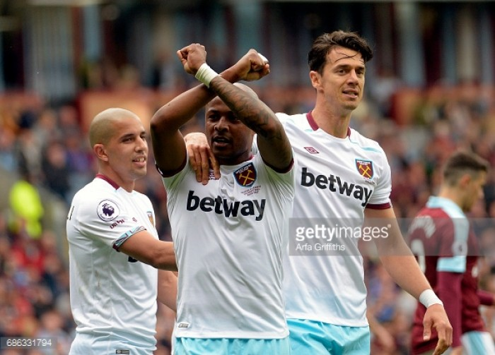 Burnley 1-2 West Ham United: Ayew strike signs off Hammers season with Clarets comeback