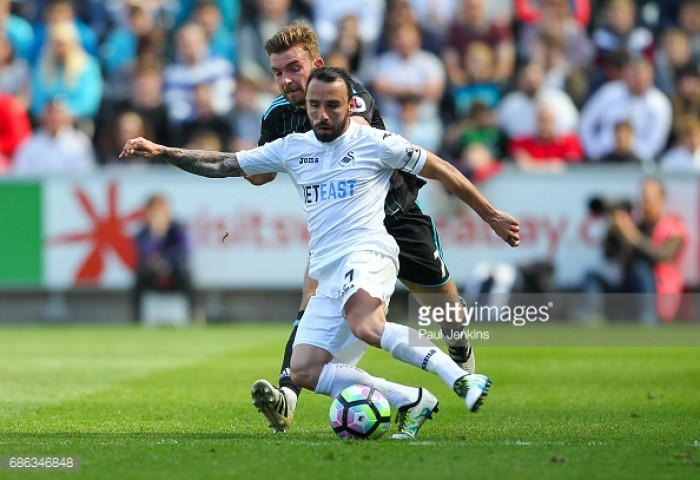 Swansea City captain Leon Britton signs new contract