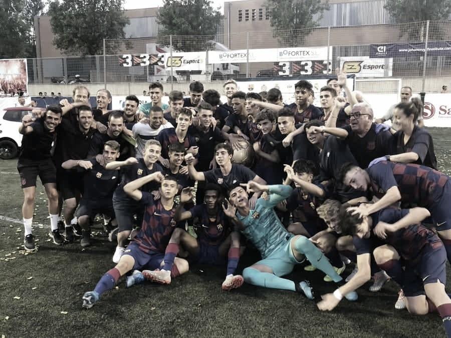 El FC Barcelona conquista The Cup