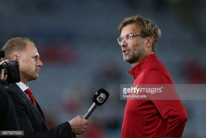 Jürgen Klopp hints at change in formation for Liverpool next season