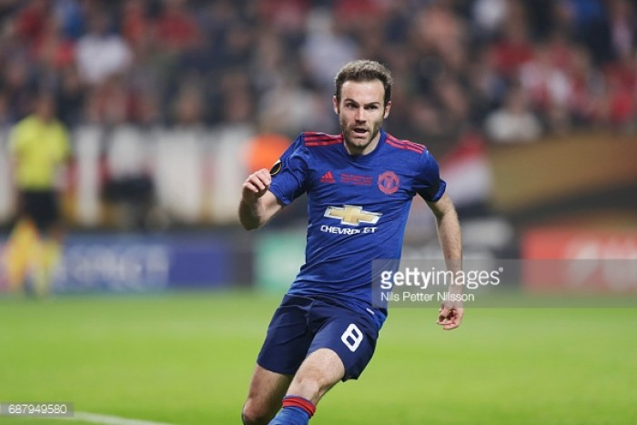 """Juan Mata admits that United's """"lack of consistency"""" cost them their Premier League title contention"""