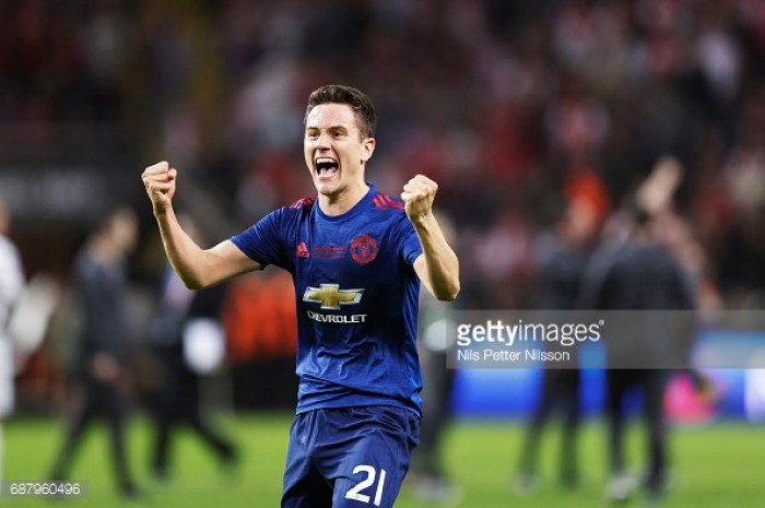 Man United beat Ajax 2-0, win Europa League