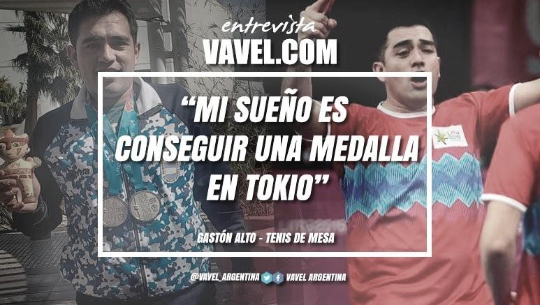 """Entrevista. Gaston Alto: """"Estoy agradecido a mucha gente por este logro y sobre todo a mi familia que me acompaña siempre"""""""