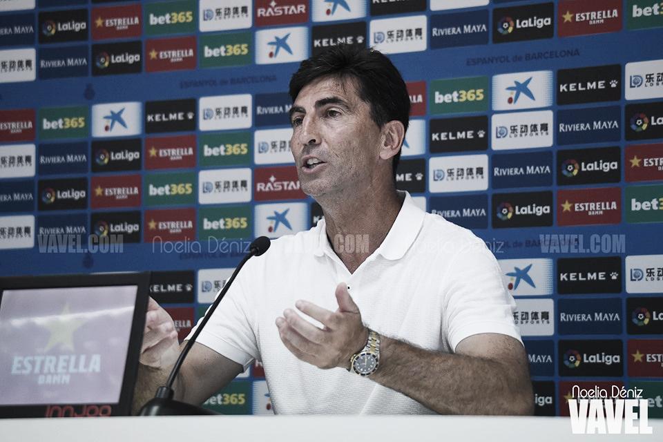 """José Aurelio Gay: """"Hay que ir a rematar"""""""