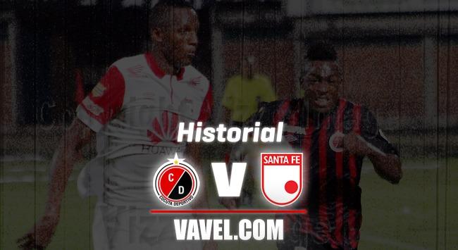 Cúcuta Deportivo vs Independiente Santa Fe: historial de enfrentamientos