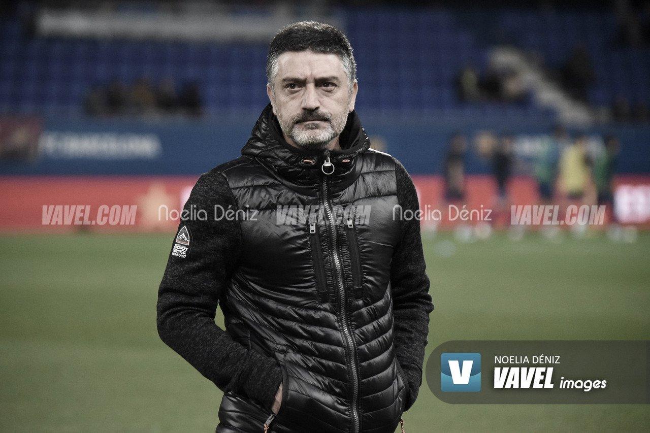 García Pimienta en el Johan Cruyff | Foto: VAVEL